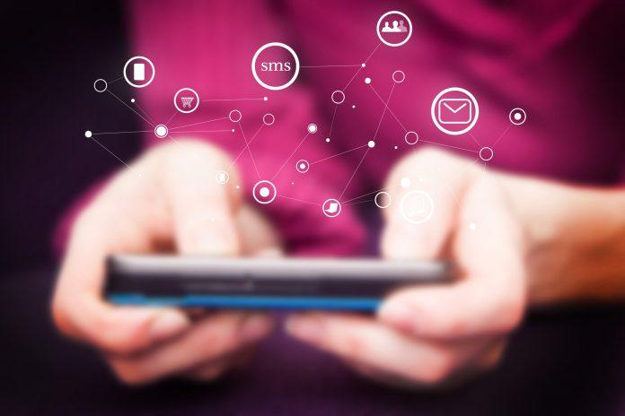 telefon sms smartfon