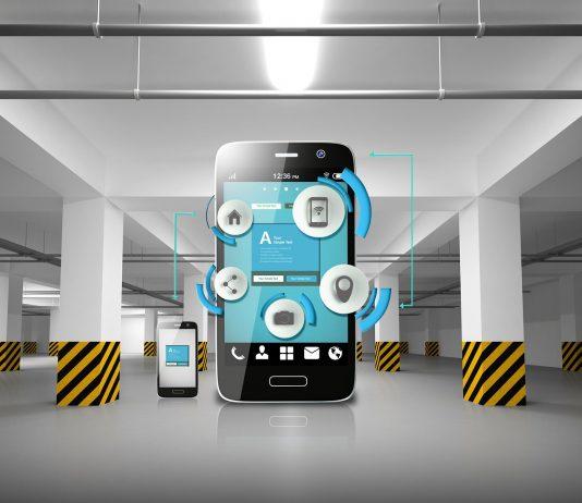 smartfon aplikacja parking