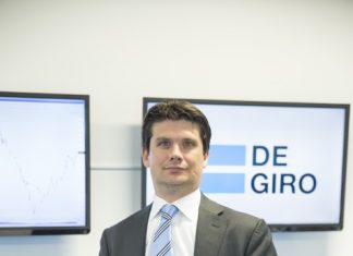 Gert Holstege, dyrektor operacji na Europę Środkowo-Wschodnią DEGIRO