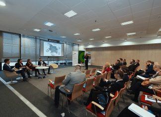 panelu dyskusyjnym na temat rozwoju sektora BPO/SSC w Warszawie