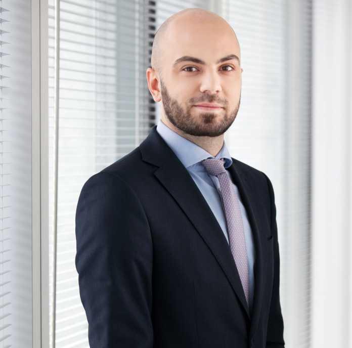 Paweł Partyka, Associate, Dział Rynków Kapitałowych w firmie Cushman & Wakefield