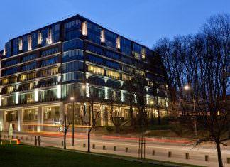 Budynek GPW Giełdy Papierów Wartościowych w Warszawie S.A.