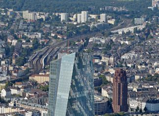 ECB premises from above