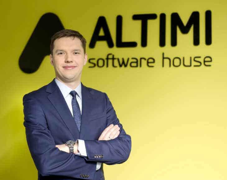 Krzysztof Caban, CTO w firmie Altimi
