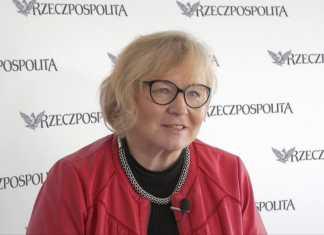 """Maria Ochman, przewodnicząca Krajowego Sekretariatu Ochrony Zdrowia NSZZ """"Solidarność"""""""