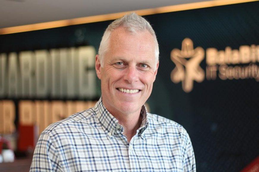Matthew Ravden, wiceprezes firmy Balabit