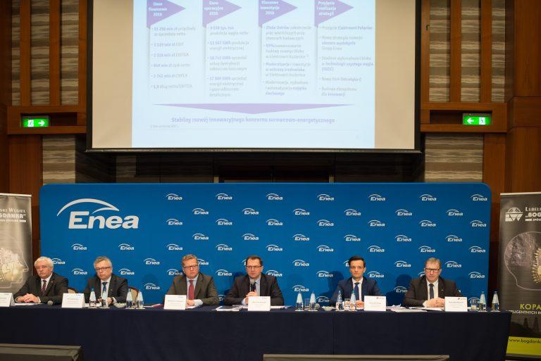 Zarząd Enei podsumowuje 2016 rok
