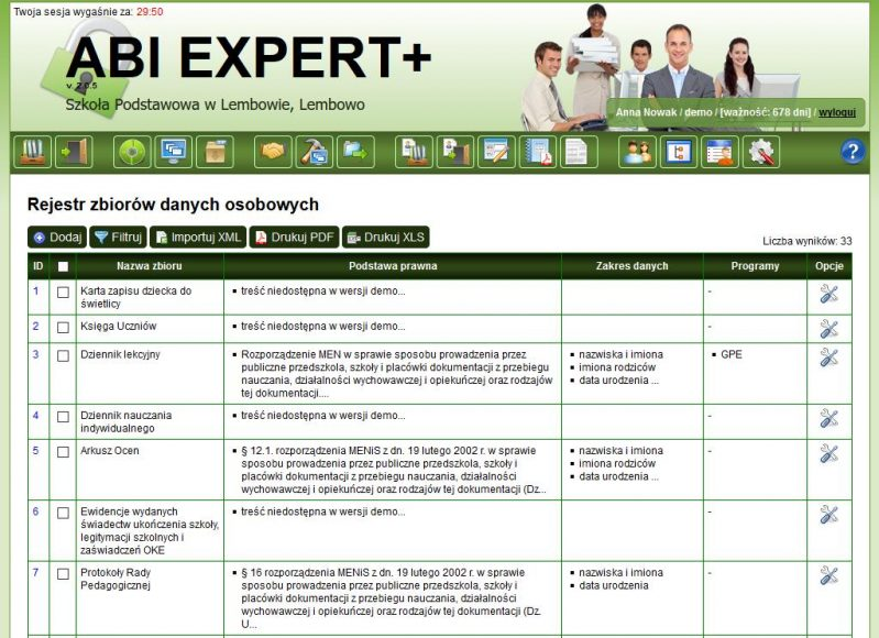 ABI EXPERT+- aplikacja dla Administratora Bezpieczeństwa Informacji