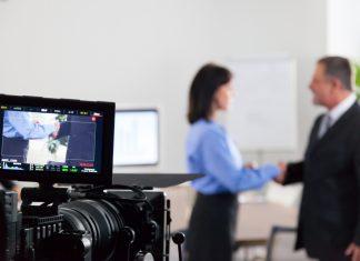 Wywiad kamera telewizja