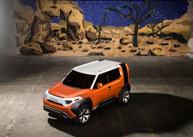 Toyota FT-4X Concept - crossover 4x4