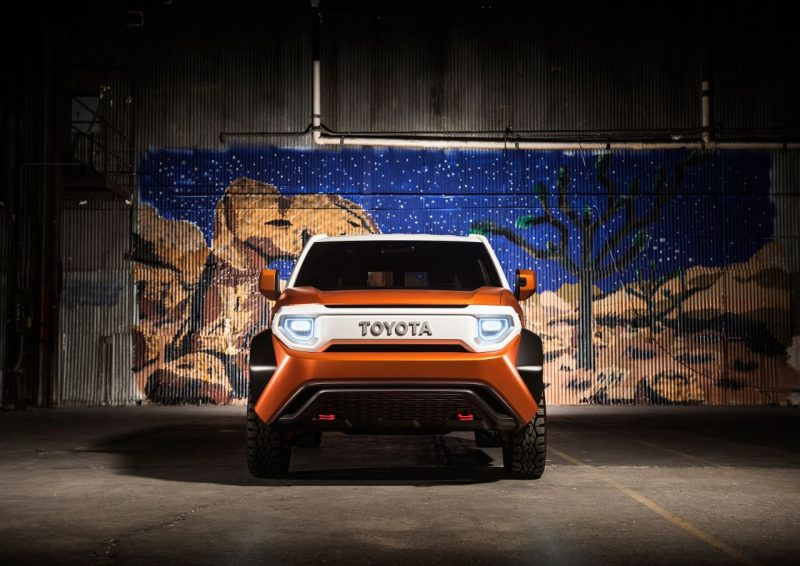 Toyota FT-4X Concept – crossover 4×4