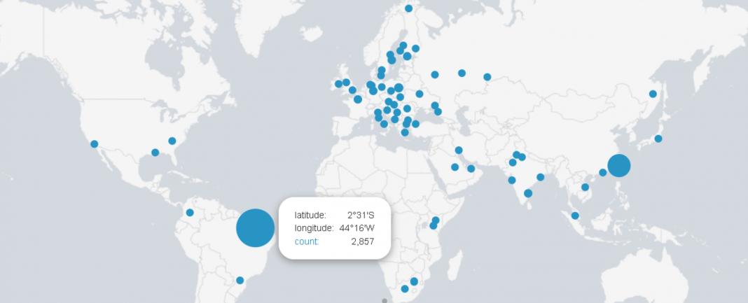 F-Secure WannaCry mapa