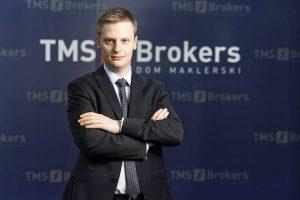 Bartosz Sawicki, Dyrektor Departamentu Analiz w Domu Maklerskim TMS Brokers
