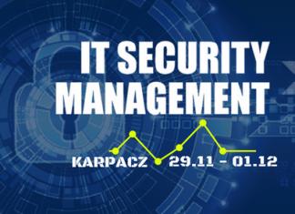 IT Security Management 29.11- 01.12 2017, Hotel Mercure Karpacz Resort