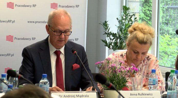 Andrzej Mądrala – wiceprezydent Pracodawców RP