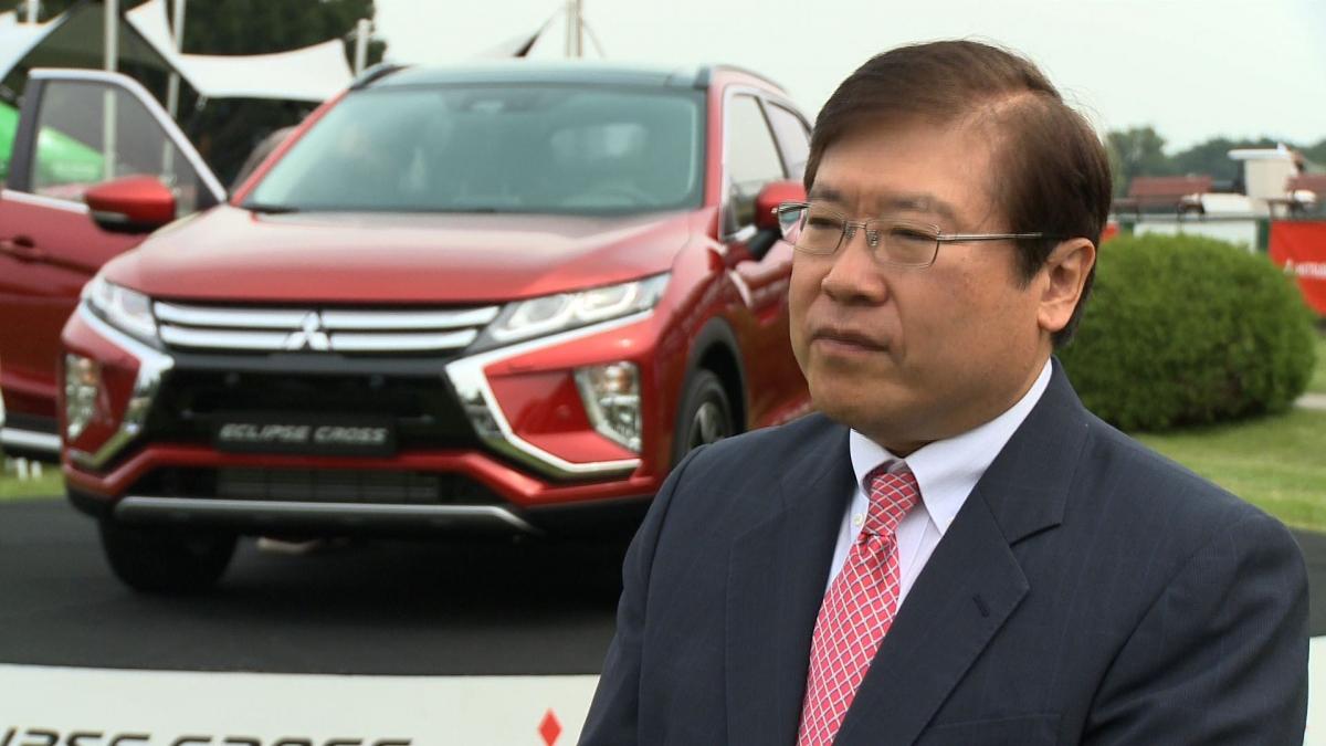 Mitsubishi wchodzi na rynek z nowym modelem Eclipse Cross. W przyszłym roku chce sprzedać 2 tys. egzemplarzy sportowego SUV-a 1