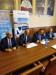 Mostostal Warszawa - podpisanie umowy