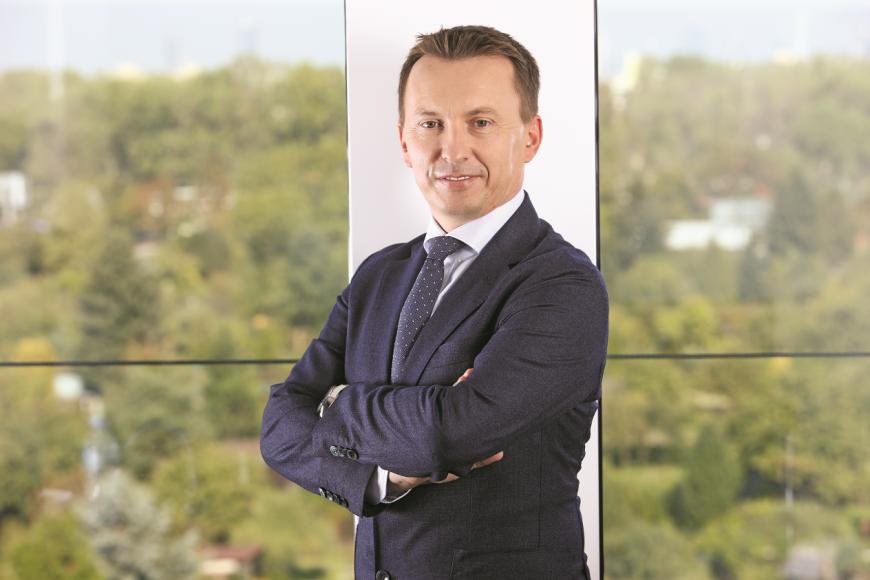Leszek Szafran, Prezes Firmy Oponiarskiej Dębica S.A.