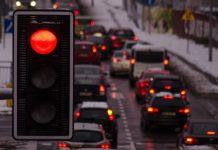 samochody światła komunikacja droga transport