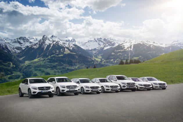 Plug-In Hybrid Familie von Mercedes-Benz
