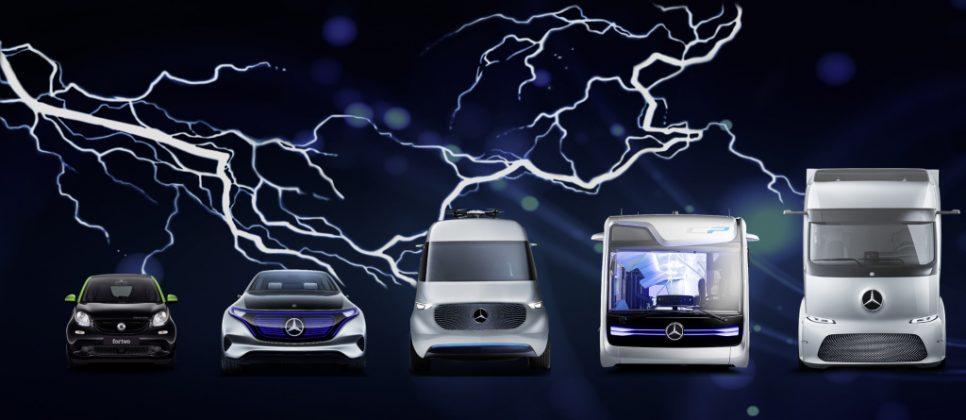 Elektrisch in allen Segmenten: Daimler gestaltet die Mobilität der Zukunft