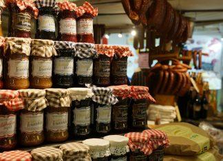 słoiki sklep żywność dżem