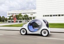 Autonomiczne samochody SMART Carsharing