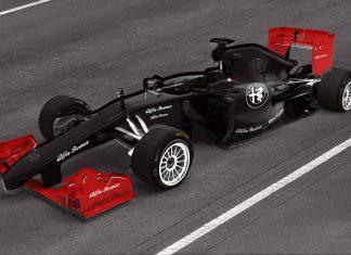 alfa F1 Racecar