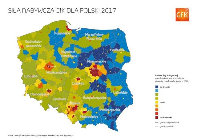 siła nabywcza Polski