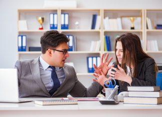 Konflikt w biurze