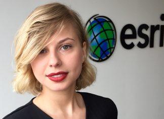Weronika Kuna, Menadżer Rynku Biznesowego w Esri Polska