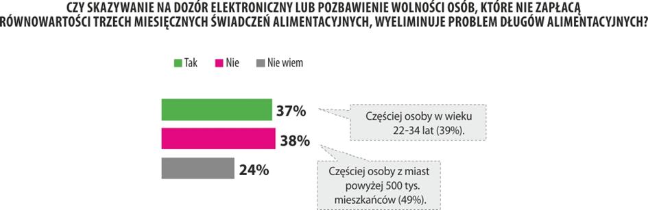 Zaległości alimentacyjne Polaków 2