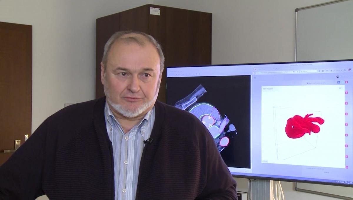 Kliniczny system z zaawansowanymi modelami 3D udoskonali proces leczenia chorób zastawek serca. To część projektu komputerowego modelu człowieka 1