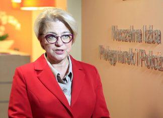 Zofia Małas, prezes Naczelnej Rady Pielęgniarek i Położnych