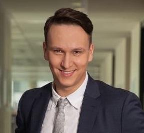 Aleksander Szybilski, Konsultant, Workplace Strategy w dziale Globalnej Obsługi Najemców w Cushman & Wakefield