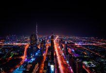 dubaj miasto światła UAE