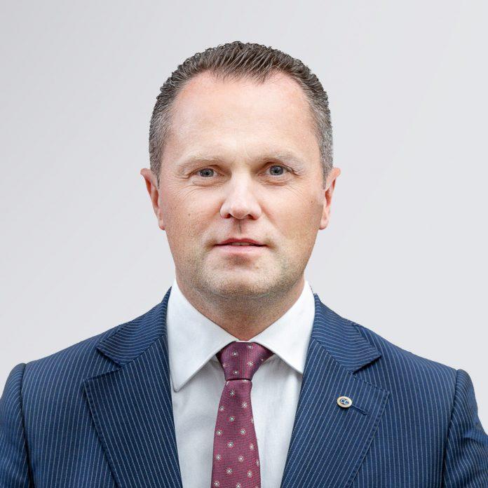 Linas Aldonis, dyrektor generalny Novaturas
