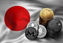 90252233 – stack of bitcoin coins on japanese flag. situation of bitcoin and other cryptocurrencies in japan concept. 3d rendering
