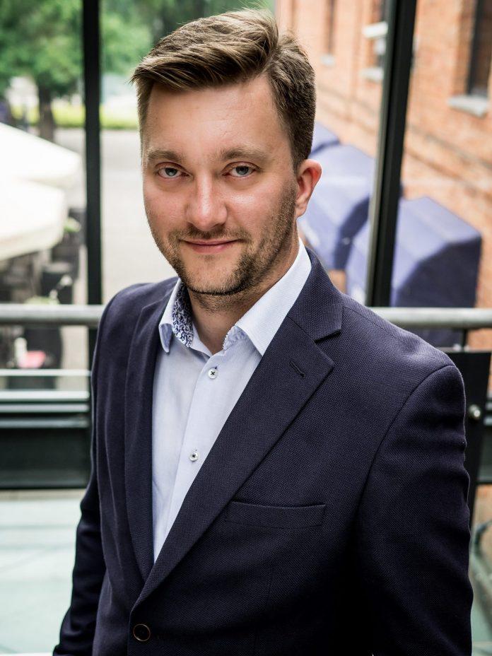 Mateusz Jakóbiak, członek zarządu firmy Vindicat