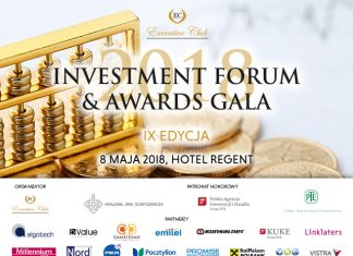 "IX edycja ""Investment Forum & Awards Gala"","