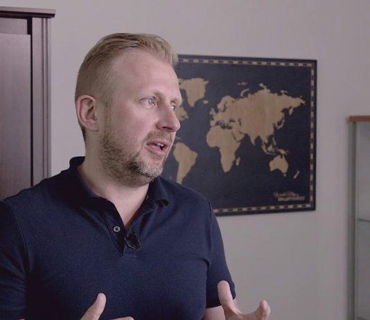 Paweł Kuskowski, prezes firmy Coinfirm