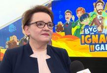 Min. Anna Zalewska: Zachęcamy firmy do angażowania się w życie szkół. To inwestycja w przyszłe kadry
