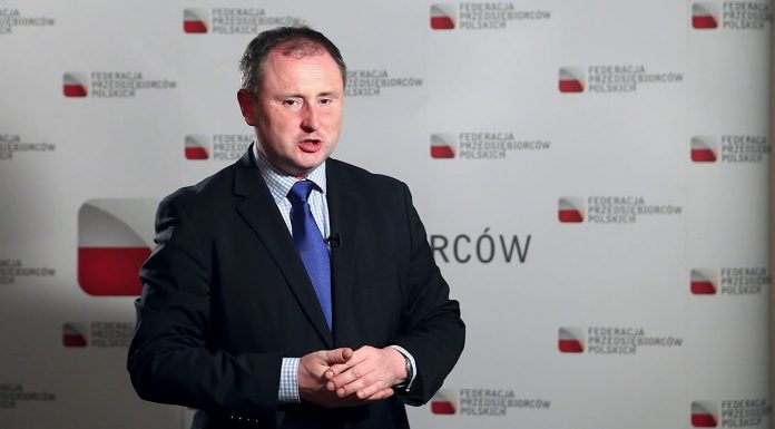 Grzegorz Lang, ekspert Federacji Przedsiębiorców Polskich (FPP)