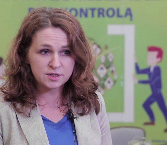 Wioleta Klimaszewska z Centralnego Instytutu Ochrony Pracy, Państwowego Instytutu Badawczego