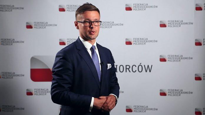 Mariusz Korzeb wiceprzewodniczący Federacji Przedsiębiorców Polskich–FPP