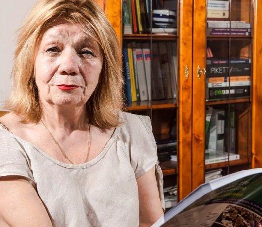 Prof. Elżbieta Mączyńska, prezes Polskiego Towarzystwa Ekonomicznego. Fot. serwis agencyjny MondayNews™