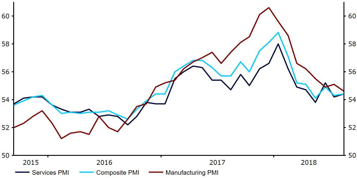Wskaźniki PMI dla strefy euro