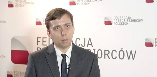 Łukasz Kozłowski, główny ekonomista Federacji Przedsiębiorców Polskich (FPP)