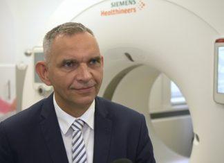 Najnowocześniejszy tomograf komputerowy w szpitalu w Opolu. Umożliwi badania bez znieczulenia i spowolni rytm serca pacjenta