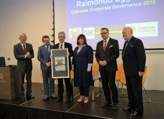 Człowiekiem Corporate Governance 2018 został Raimondo Eggink